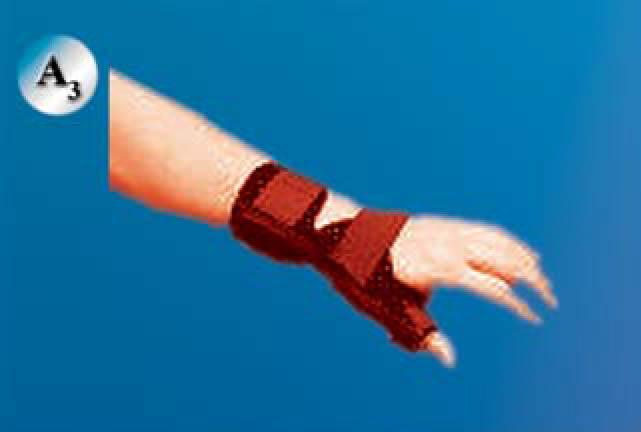 Soft thumb spica:اسپایکای نرم